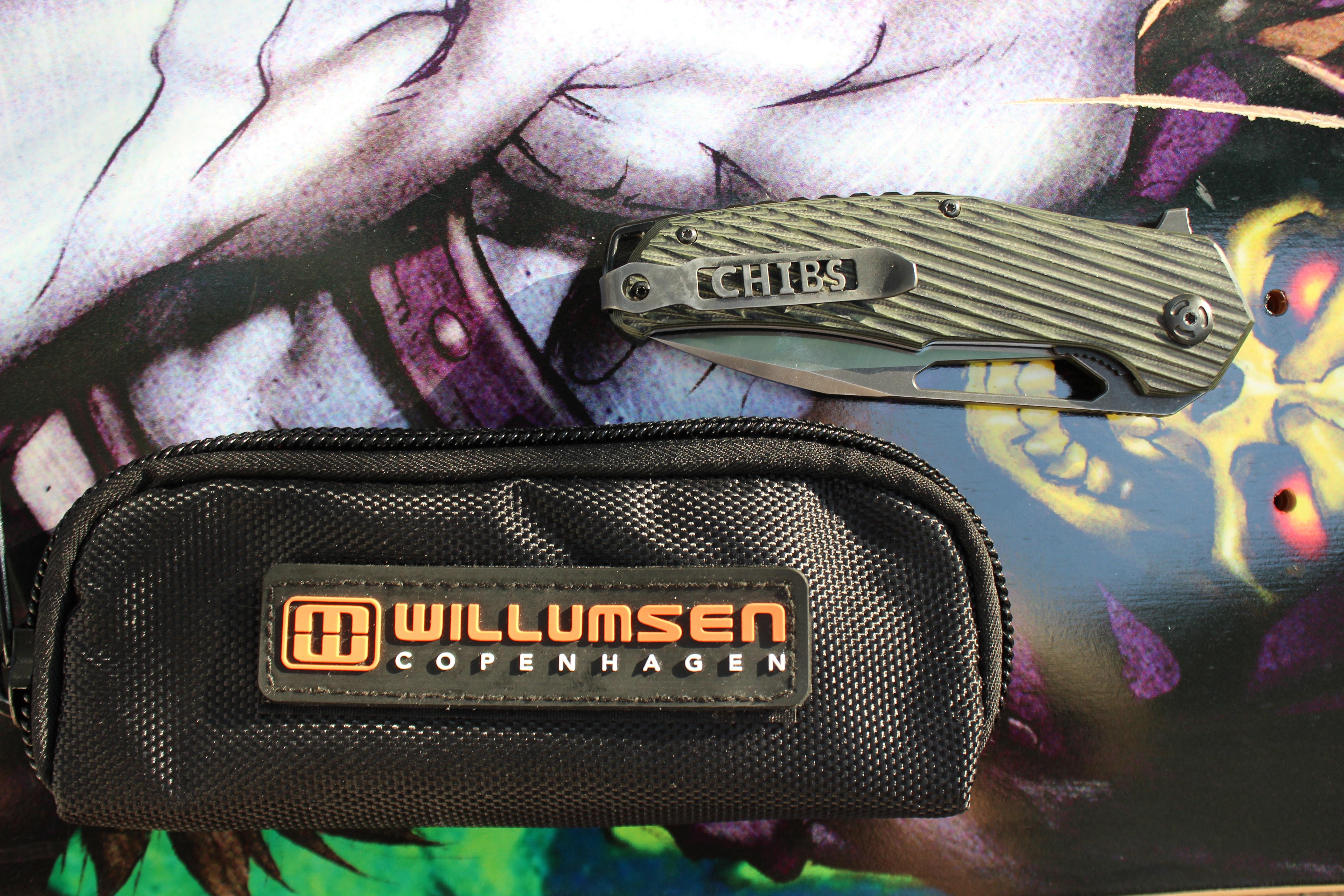 Willemsun Copenhagen Chibs Adventure Knife