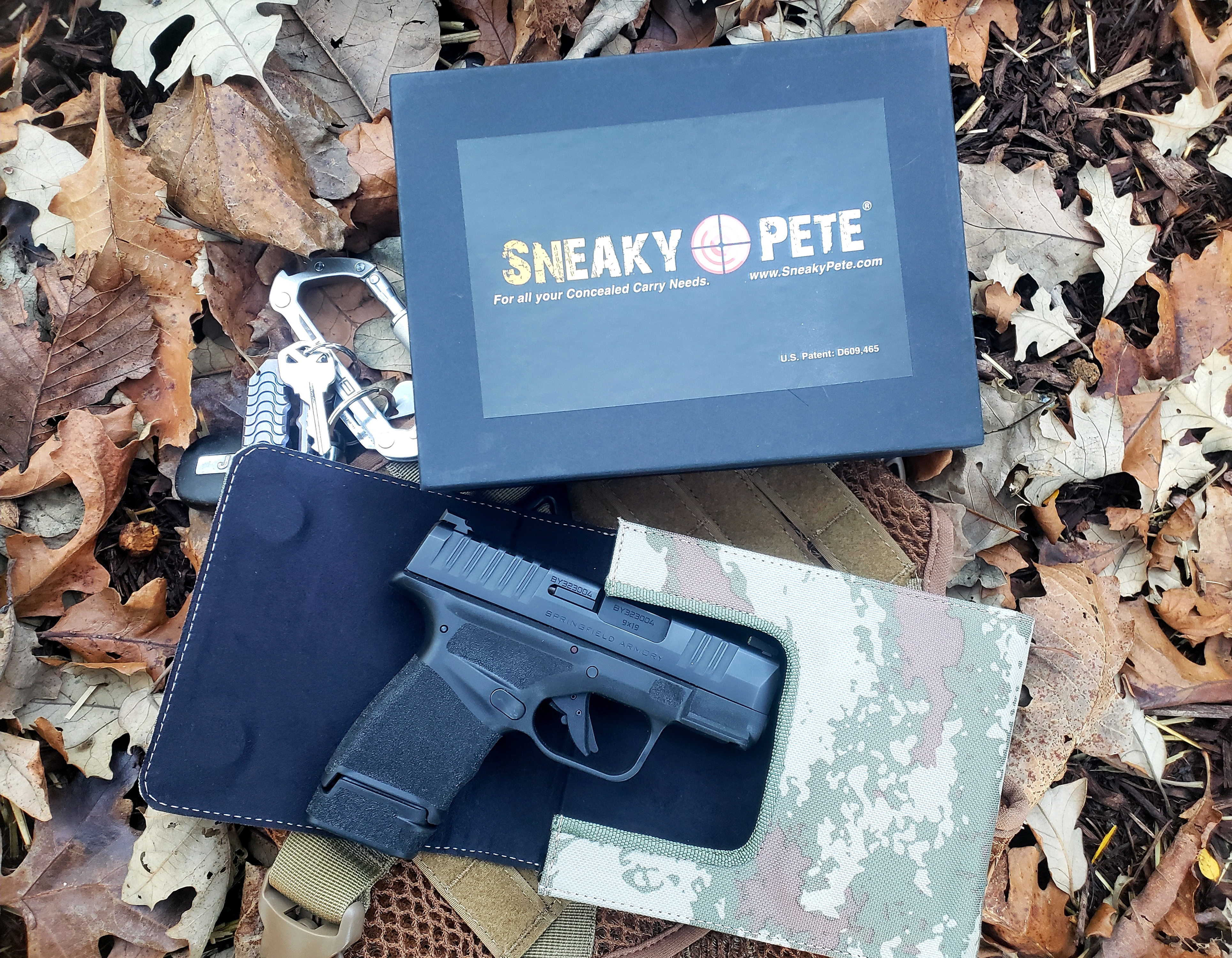 Sneaky Pete Concealed Carry Belt Holster